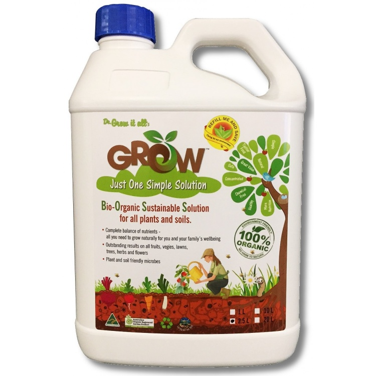 Grow Liquid Fertiliser - 2.5L / 10L / 20L