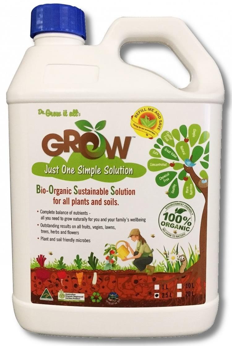 Grow Liquid Fertiliser - 2.5L / 10L / 20L