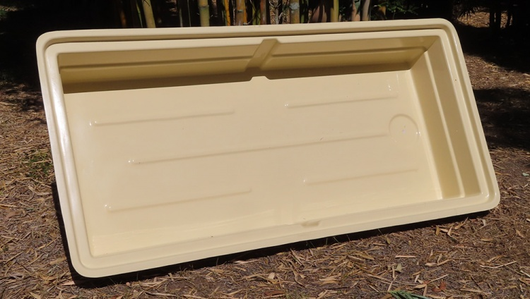 AQUAPONICS GROW BED 585 litres