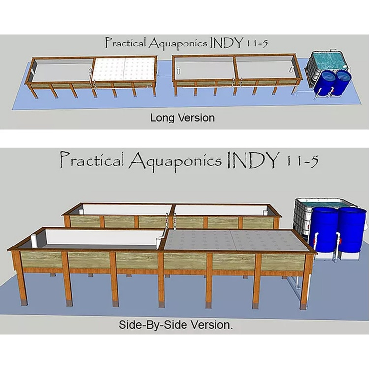 INDY 11.5 System - Plans and Building Instructions