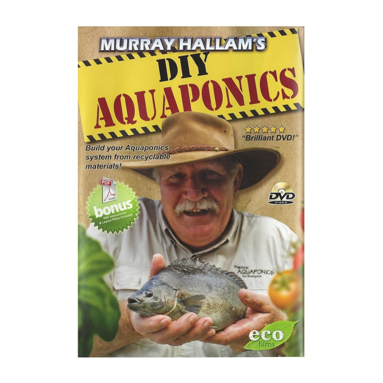 DIY Aquaponics + Aquaponics: The First 12 Months DVD