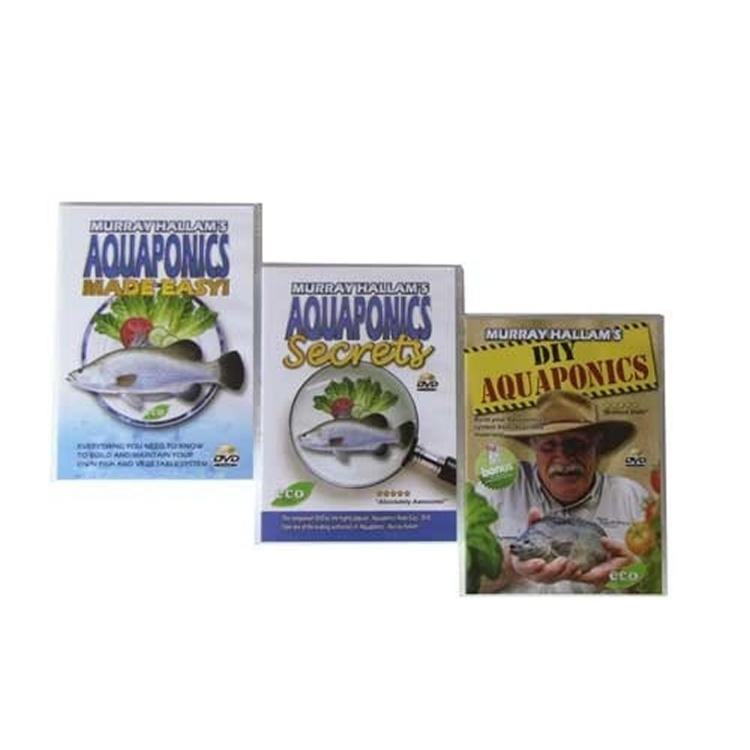 Triple Pack - Aquaponics Made Easy + Aquaponics Secrets + DIY/First 12 Months