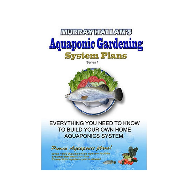 Aquaponic Gardening - Book of Plans